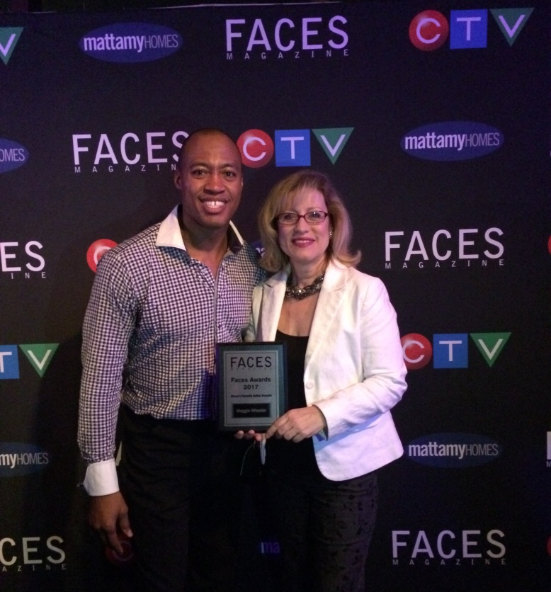 Maggie Wheeler 2017 FACES Award 2